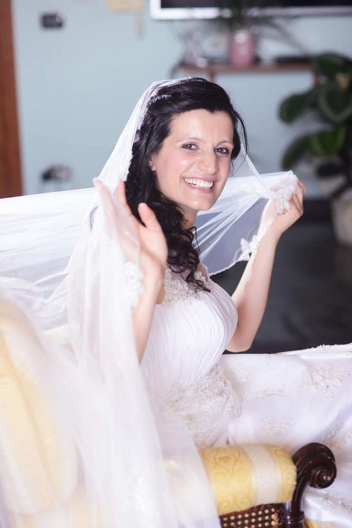 ritratto sposa, trucco sposa, abito da sposa