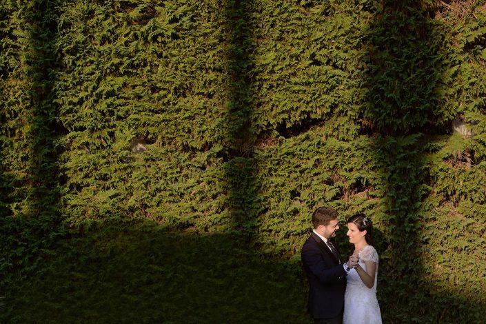 Villa Vittoria, Matrimonio, giardino, sposi